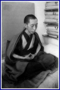 Geshe Kelsang Gyatso on retreat in India