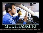 the perils of multitasking