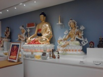 Buddha Shakyamuni and Tara at KMC NYC