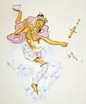 Dakini in Kadampa Buddhist Temple for World Peace in England