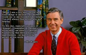 Mr Rogers and the Boston bombing