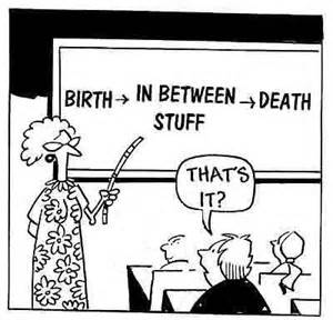 birth and death