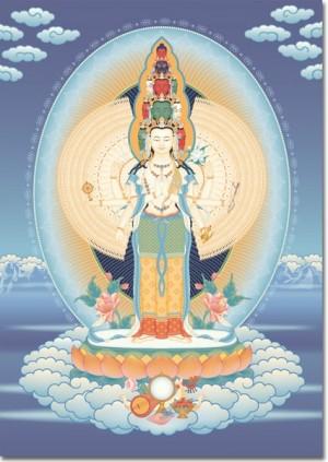 1000-armed Avalokiteshvara