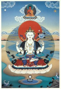 Avalokiteshvara by Graham Dyer