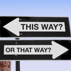 this way or that way