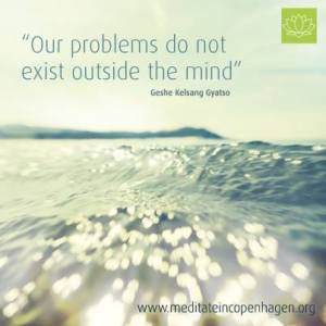 problems outside the mind