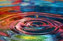 ripples from one drop of water