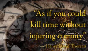 kill time injure eternity