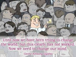change mind