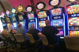 gambling addict