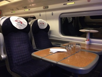 first class train
