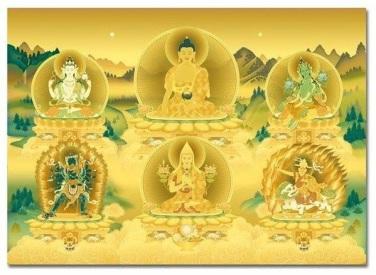 Kadampa  Buddhas