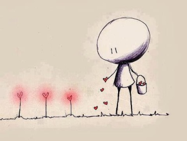 sowing seeds of love