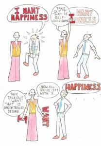 i want happiness