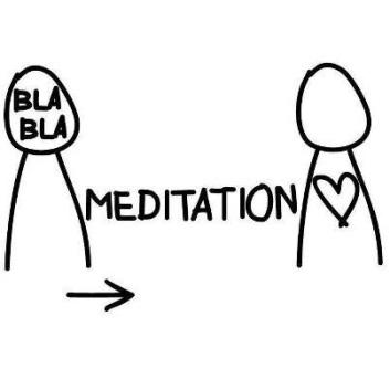 bla bla meditation