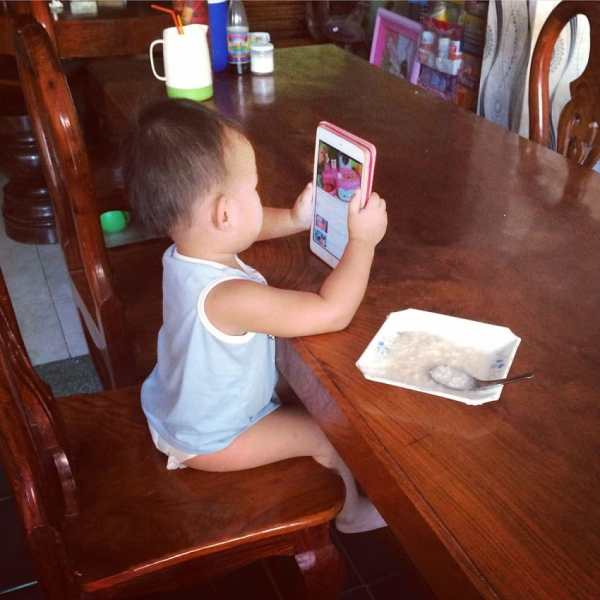 baby and technology