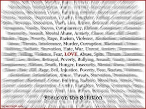 focus on the solution