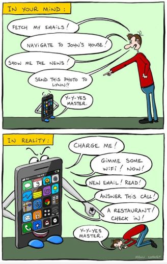 addiction to smartphone