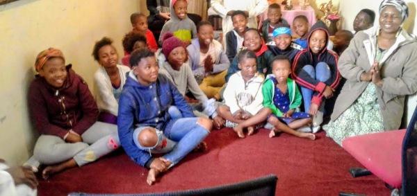 kids in kids in Khayelitsha