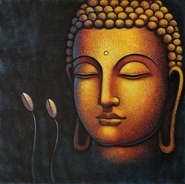 Buddha face smaller