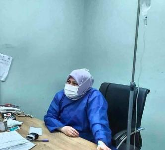 Iranian doctor on IV